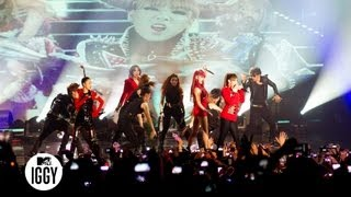 "2NE1 — ""I Am The Best"" — MTV Iggy's Best New Band Concert 2011"