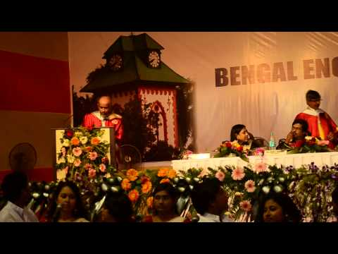 16th Annual Convocation of Bengal Engineering & Science University, Shibpur, 2014 - Part 12