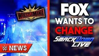Undertaker Confirmed For WrestleMania 35?? FOX Making WWE Change SmackDown?! - WWE News Ep. 227