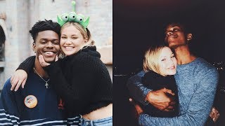Olivia Holt and Aubrey Joseph Funny/Cute Moments (Cloak and Dagger)
