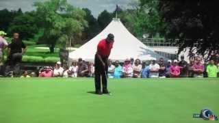 Tiger Woods, 2013 WGC-Bridgestone Invitational, Putting drill