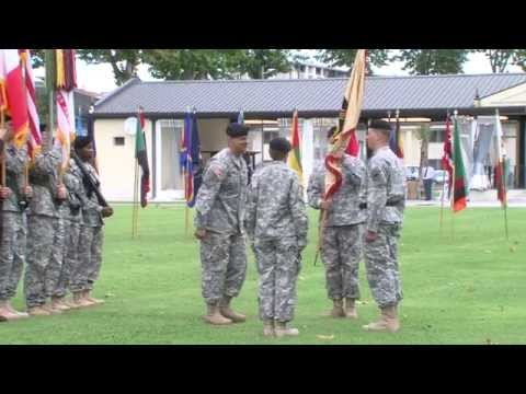 414th Contracting Support Brigade Change of Command