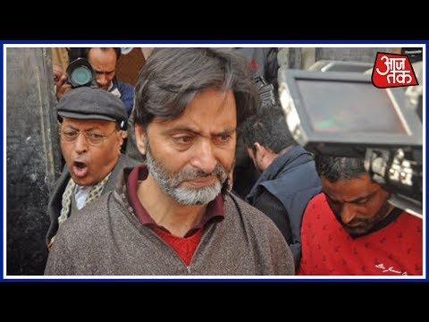 Separatist Leader Yasin Malik Arrested Ahead Of Hurriyat Meeting