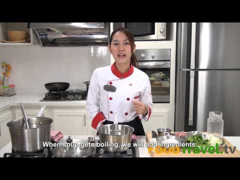 [Thai Food] Suki in Broth (Su Ki Nam)