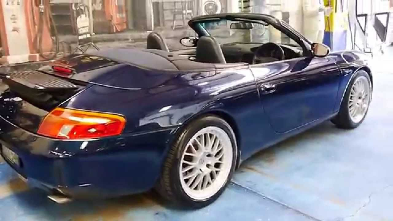1998 porsche 911 carrera cabriolet 996 youtube. Black Bedroom Furniture Sets. Home Design Ideas