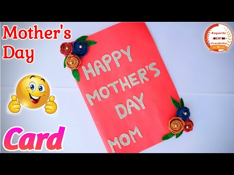 Mother's Day Special Card / Handmade Mother's Day card / Mother's Day Greetings Card Making
