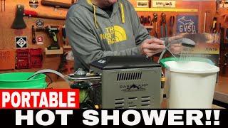 Video PORTABLE HOT SHOWER!! MR HEATER BOSS-XW18 REVIEW download MP3, 3GP, MP4, WEBM, AVI, FLV September 2018