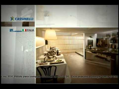 Cassinelli   el porcelanato estÁ de moda   youtube