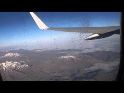 Fly over High Atlas Mountains in Morocco