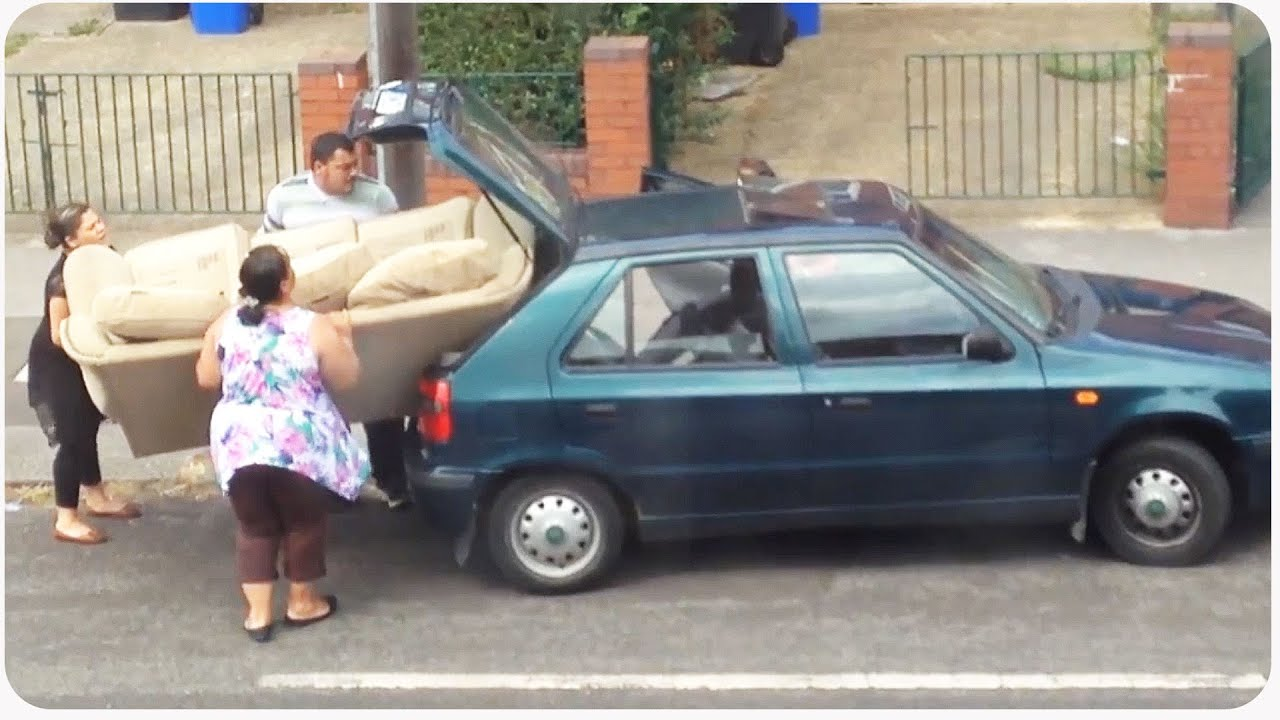 Sofa Wonu0027t Fit In Car   Size Does Matter   YouTube