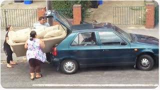Sofa Won't Fit In Car   Size Does Matter