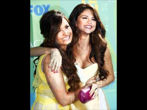 Demi Lovato + Selena Gomez Gift of a friend