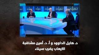 د. هايل الداوود  و أ. د. أمين مشاقبة - الارهاب يضرب سيناء
