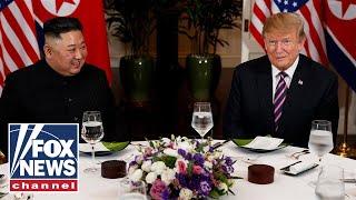 Trump, Kim Jong Un kick off second summit with dinner