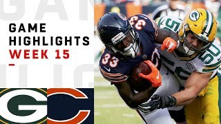 Packers vs. Bears Week 15 Highlights | NFL 2018