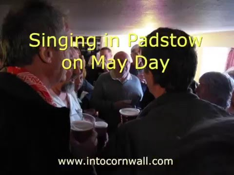 Singing in Padstow on May Day