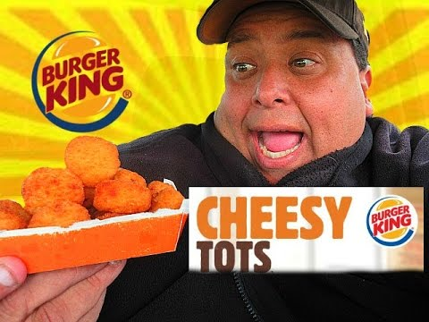 BURGER KING® Cheesy Tots Review! thumbnail