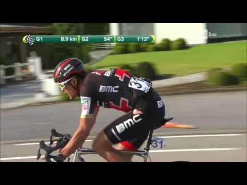 Il ciclista cade, bestemmia in diretta TV - Rai Sport