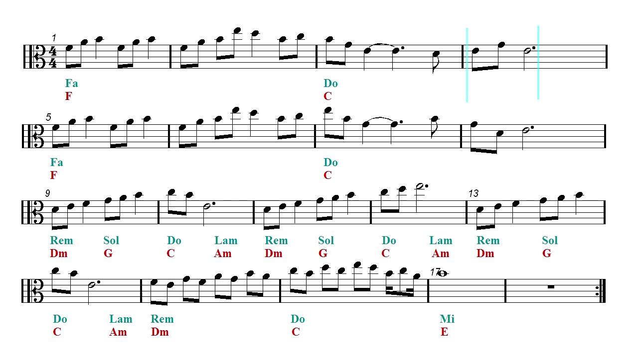 Viola Play Along Lost Woods Sarias Song Zelda Ocarina Of
