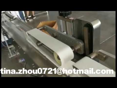 Full automatic facial tissue paper making machine production line
