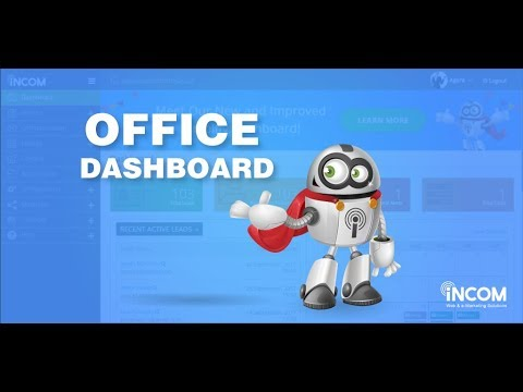 InCom Office Dashboard