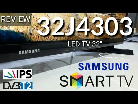 REVIEW SAMSUNG SMART TV 32J4303 LED TV indonesia HD