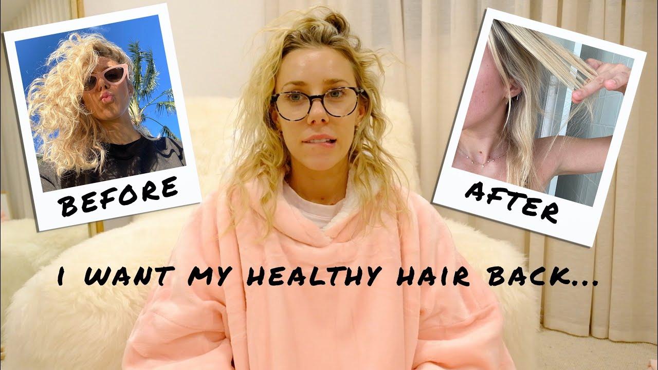 NEW Heatless Hair Routine to repair my thin, brittle & damaged hair!