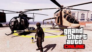 GTA Online: Buzzard & Savage Kills [READ DESCRIPTION]