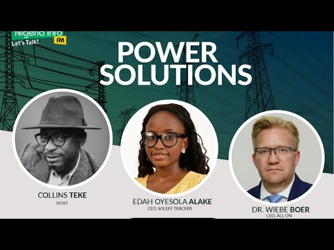 Monday, 7th September, 2020, Guest - Edah Oyesola Alake, CEO, Soleff Tracker