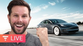 100K Model 3's Flooding the Streets! Let's Talk About It [live]