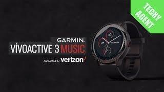 NEW Garmin Vivoactive 3 Music LTE Verizon - CES 2019