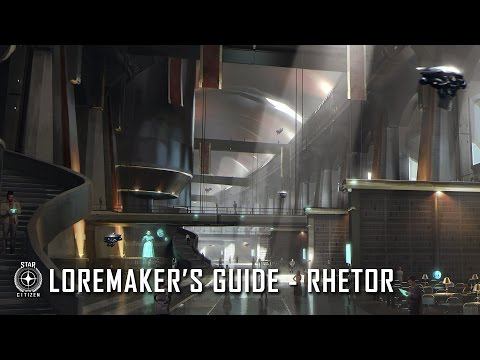 Star Citizen: Loremaker's Guide to the Galaxy - Rhetor System