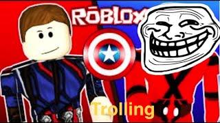 Roblox: Superheld Tycoon Troling