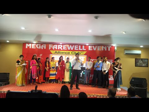 Mega Farewell Event Of Passing Out Officers.