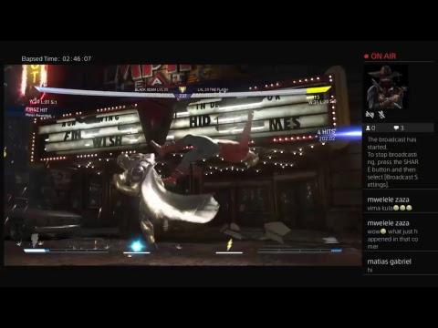 Injustice 2 Mr 5000 (The flash etc) vs Killjoy(Aquaman,adam etc)offline  spur session