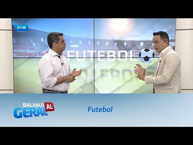 Futebol: CSA vence o Internacional no Estádio Rei Pelé
