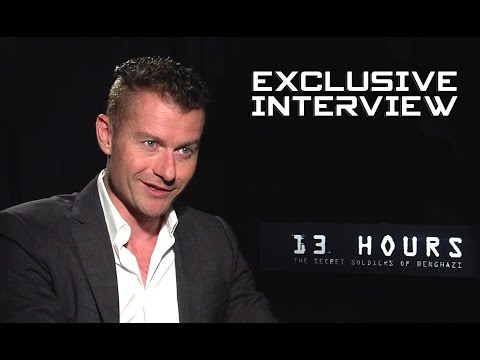 James Badge Dale Exclusive Interview - 13 HOURS: THE SECRET SOLDIERS OF BENGHAZI (2016)