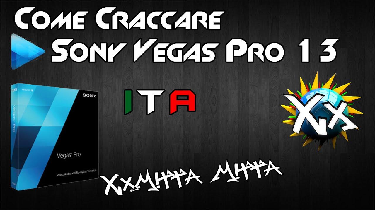 e craccare Sony Vegas Pro 13 ufficiale ITA