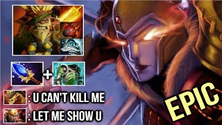 How To Counter Fed Bristleback Epic Scepter LC 1k+ Damage Duel Crazy Fun Gameplay 7.20 Dota 2