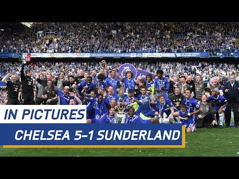 MATCH IN PICTURES: Chelsea v Sunderland