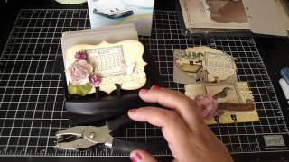 Altered Rolodex and Curtain Call Rolodex Swap ***CLOSED***