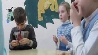 Английский язык для детей 7 лет. Уроки Junior 1. Центр World.flv
