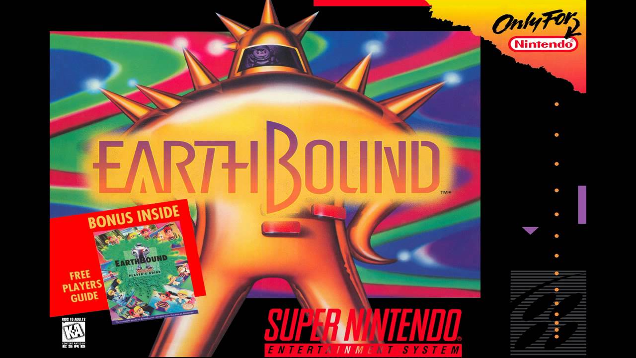 EarthBound (Mother 2) - Onett at Night 3