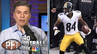 PFT Overtime: Antonio Brown looks good in warmups, PI rule issues | Pro Football Talk | NBC Sports