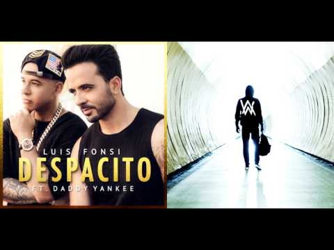 Despacito vs Faded - Luis Fonsi, Daddy Yankee & Alan Walker (Mixed Mashup)