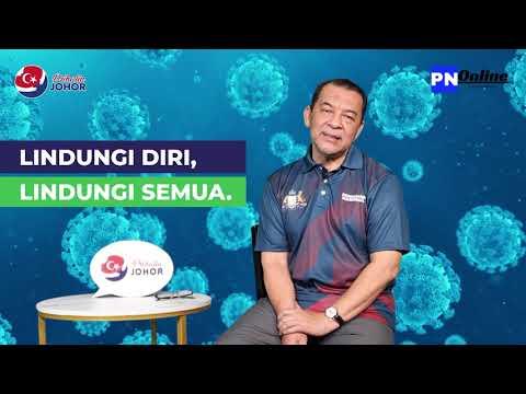 Penerangan mengenai Covid 19 & Vaksinasi di Johor