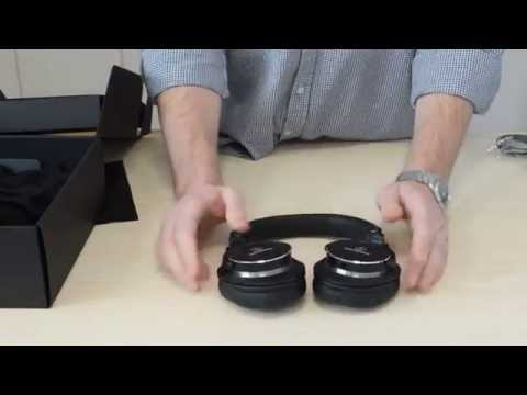 Audio-Technica ATH-MSR7 SonicPro Headphones - Unboxing And Review