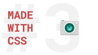 #3.Camera Icon | CSS Made