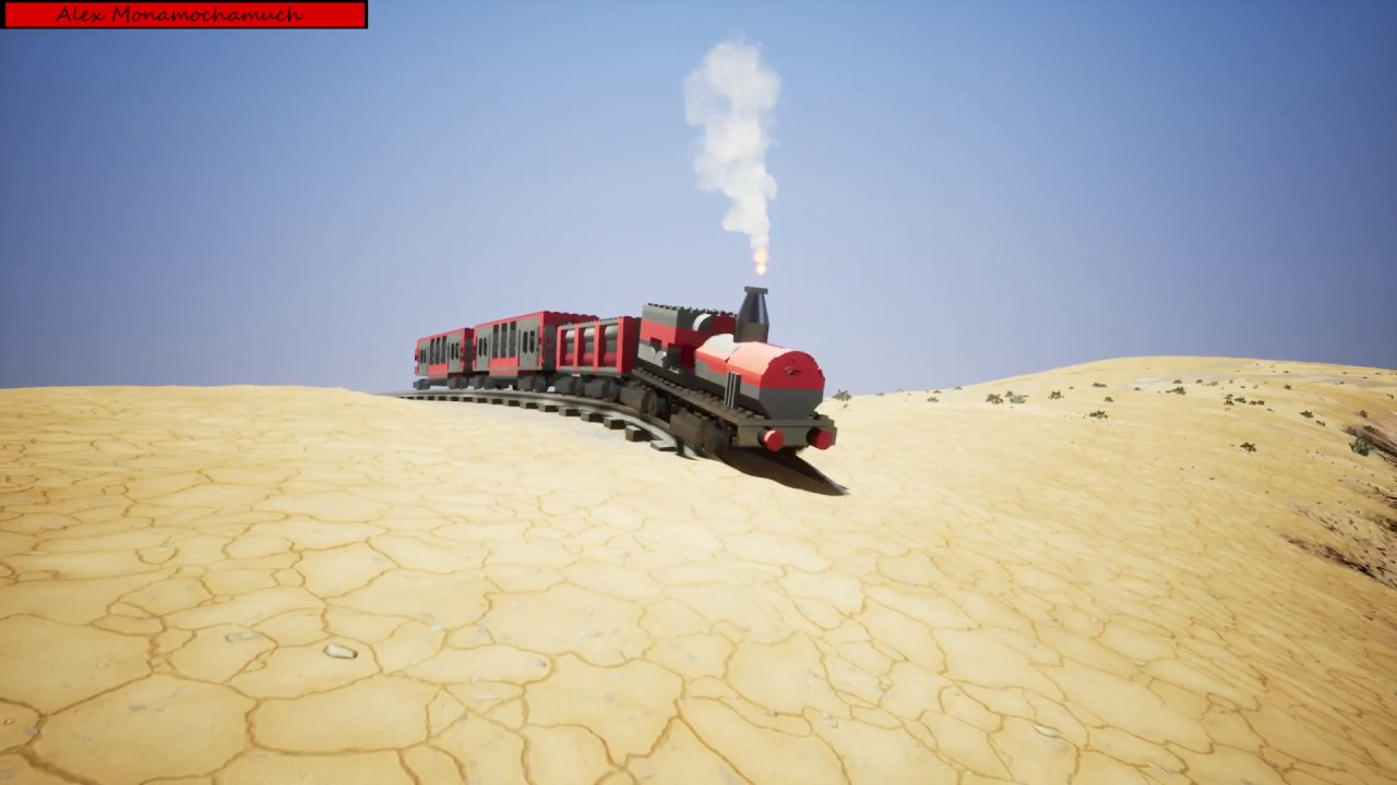Build your own vehicles or download one of more than 50000 vehicles from the workshop and enjoy the dynamic driving and destruction physics of brick rigs!