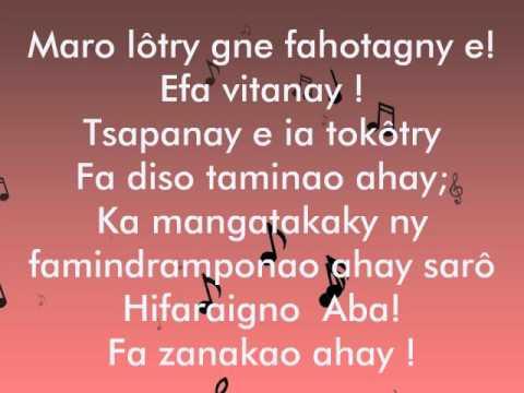 Fifonana DISO TOKÔTRY AHAY